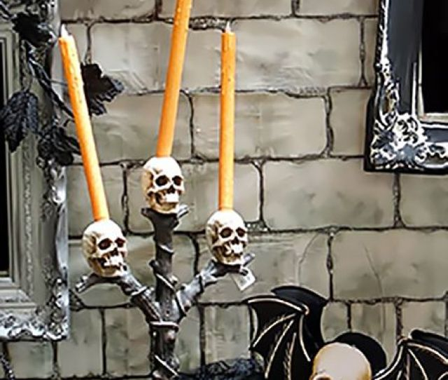 Halloween Candles Candle Holders