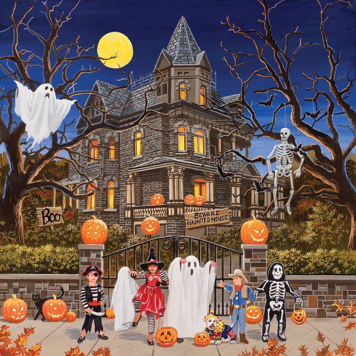 Beware Haunted House Puzzle By Sunsout Puzzles