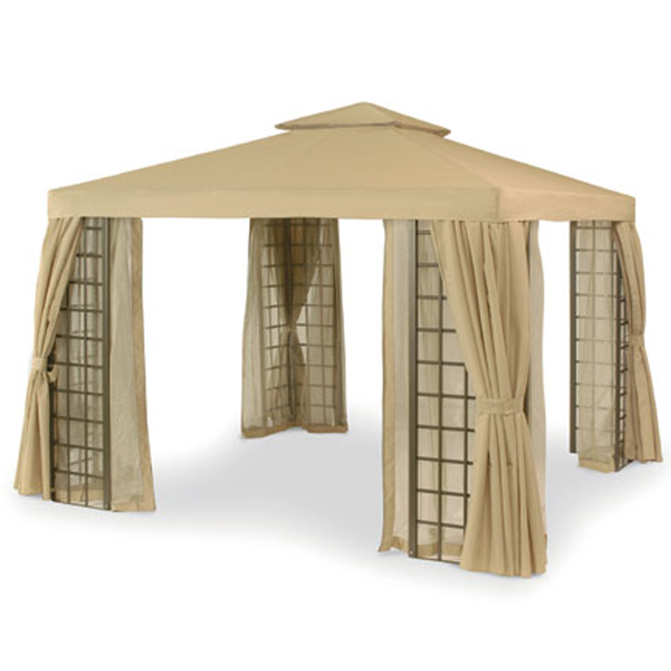 Beige Outdoor Suntime Deluxe 3m Aluminium Patio Garden ... on Suntime Outdoor Living  id=92058