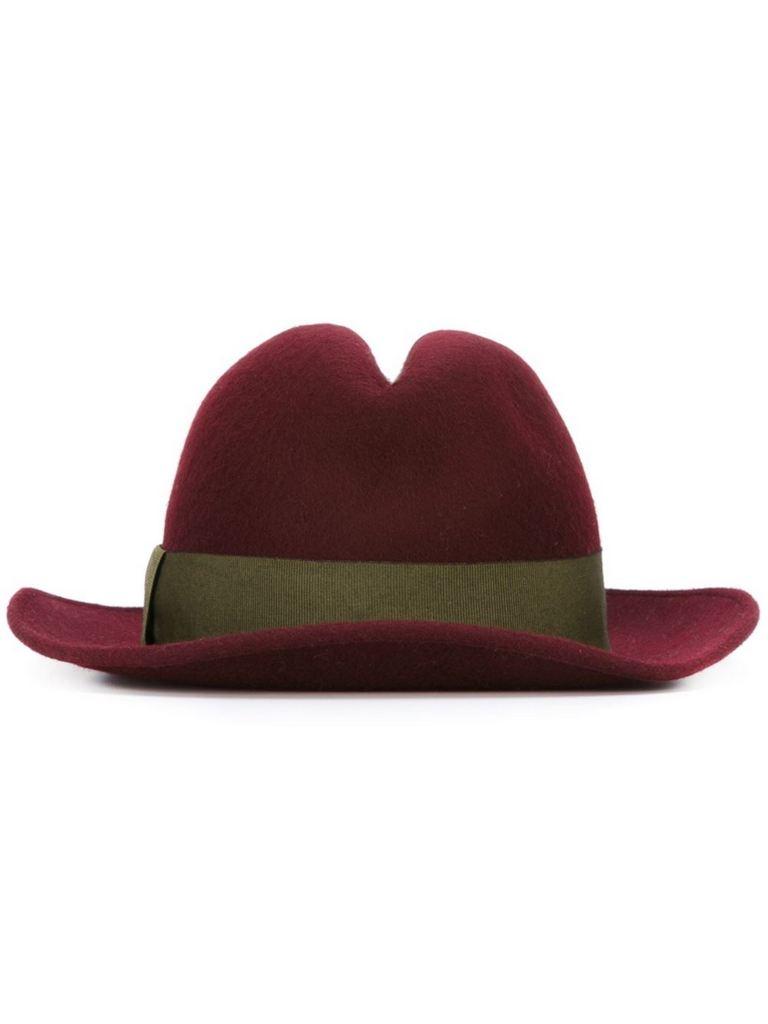 fedora hat by ANTONIO MARRAS | $96