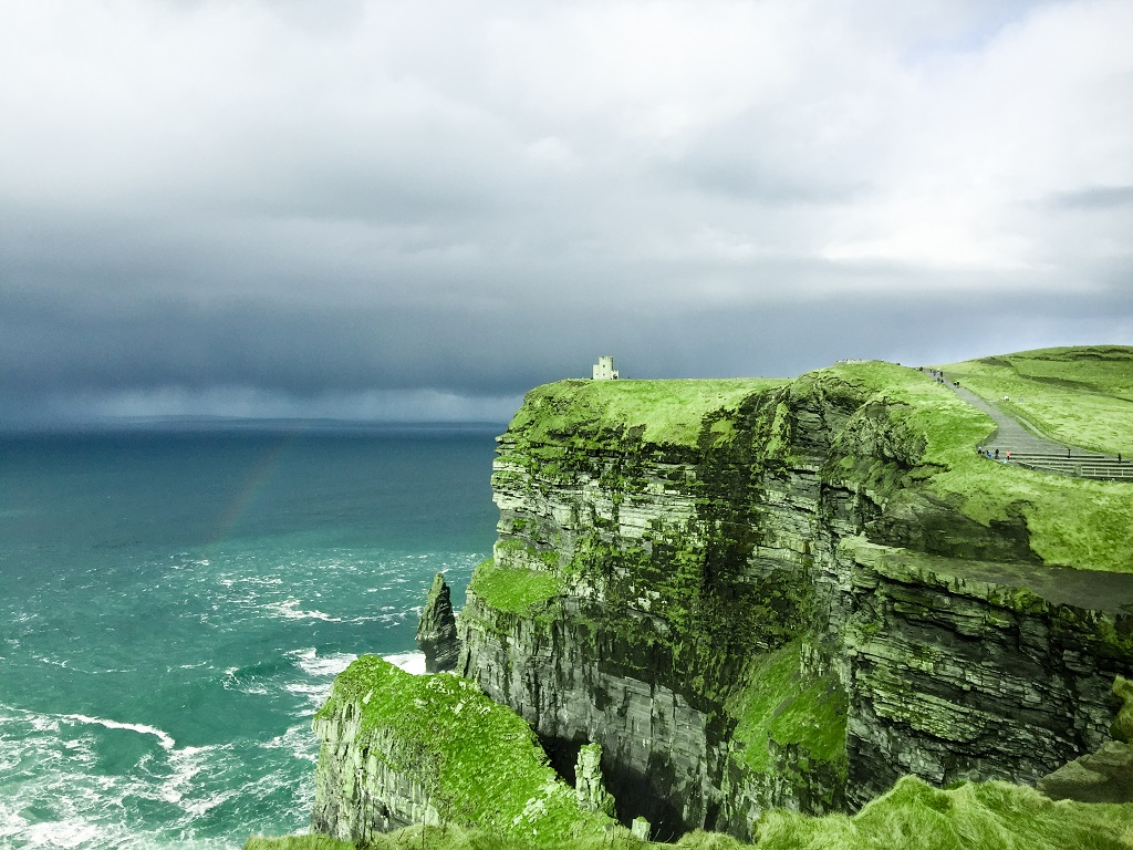 O'Briens Tower at Cliffs of Moher and Surrounding Attractions in County Clare, Ireland - Christobel Travel