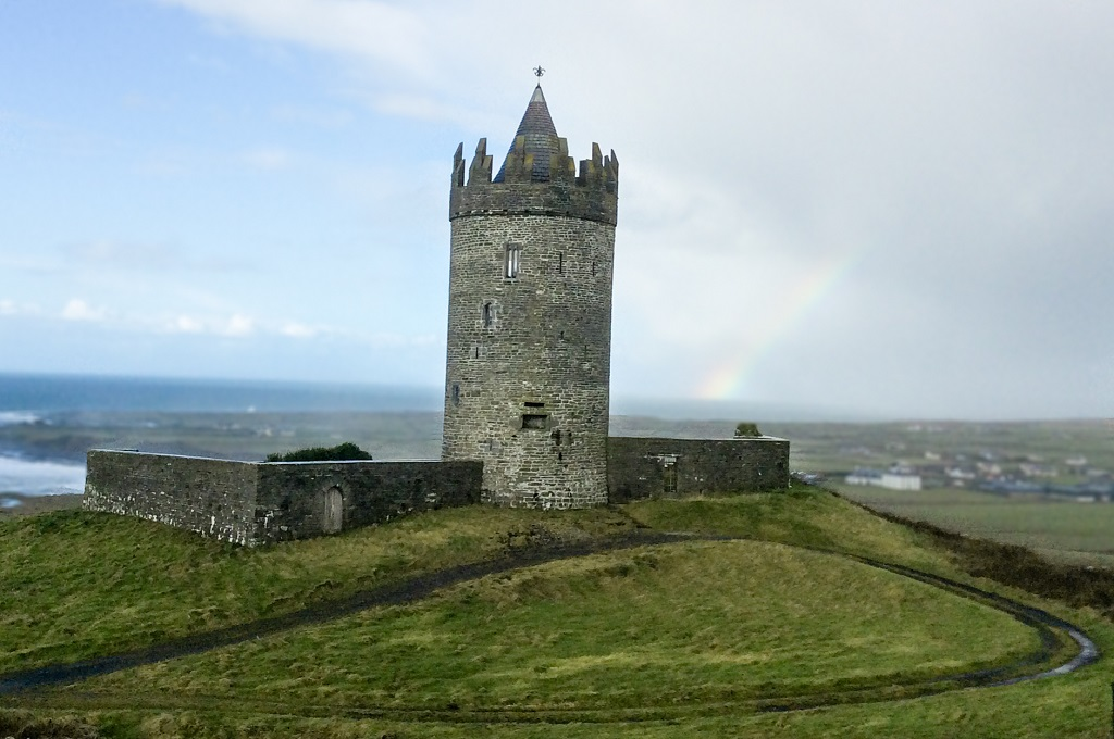 Doonagore Castle - Cliffs of Moher and Surrounding Attractions in County Clare, Ireland - Christobel Travel