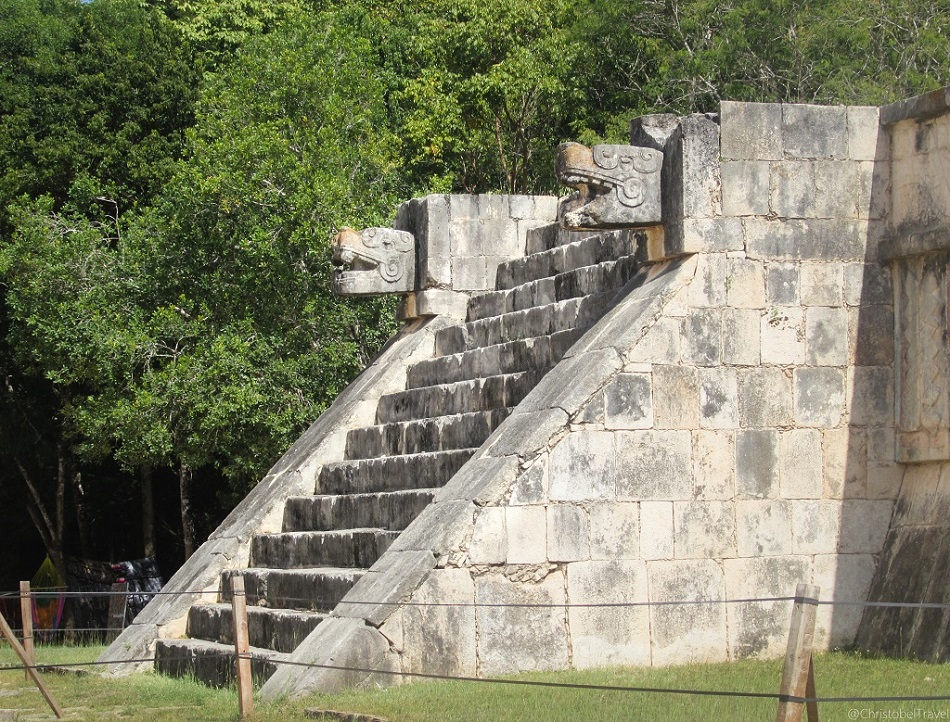 Platform of Jaguars - Day Trip to Chichen Itza, Yucatan, Mayan Ruins - Christobel Travel