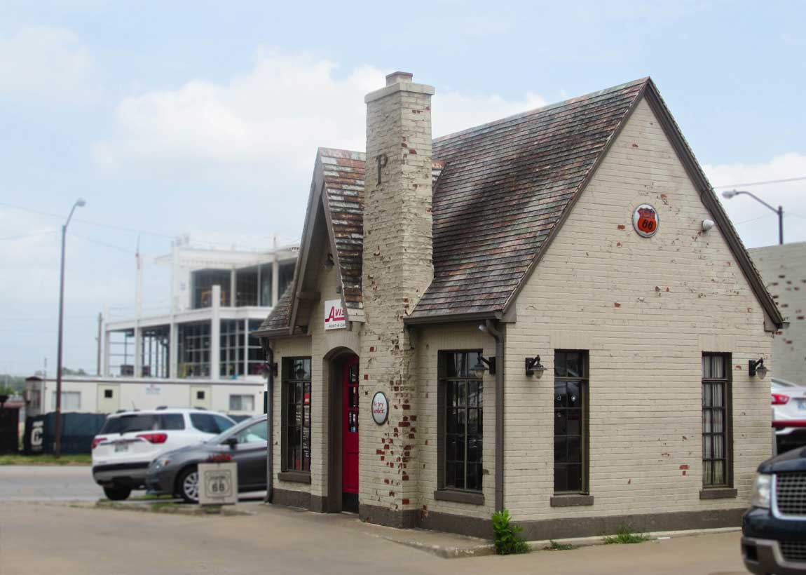 Vickery Phillips 66 Station in Tulsa - Route 66 Oklahoma: All Towns and Attractions to See - Christobel Travel