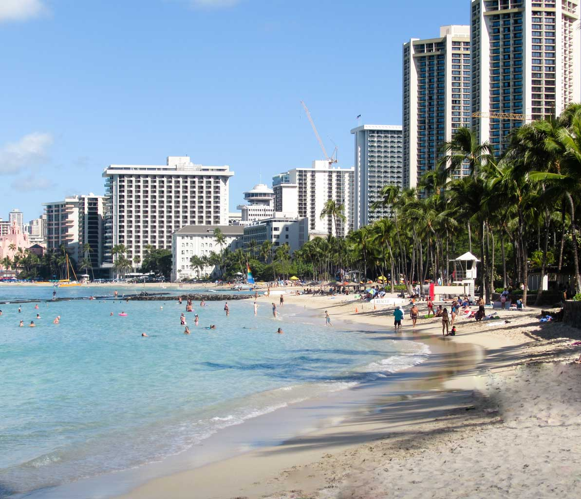 Waikiki Beach - Honolulu Travel Guide - 45 things to do in Honolulu - Christobel Travel
