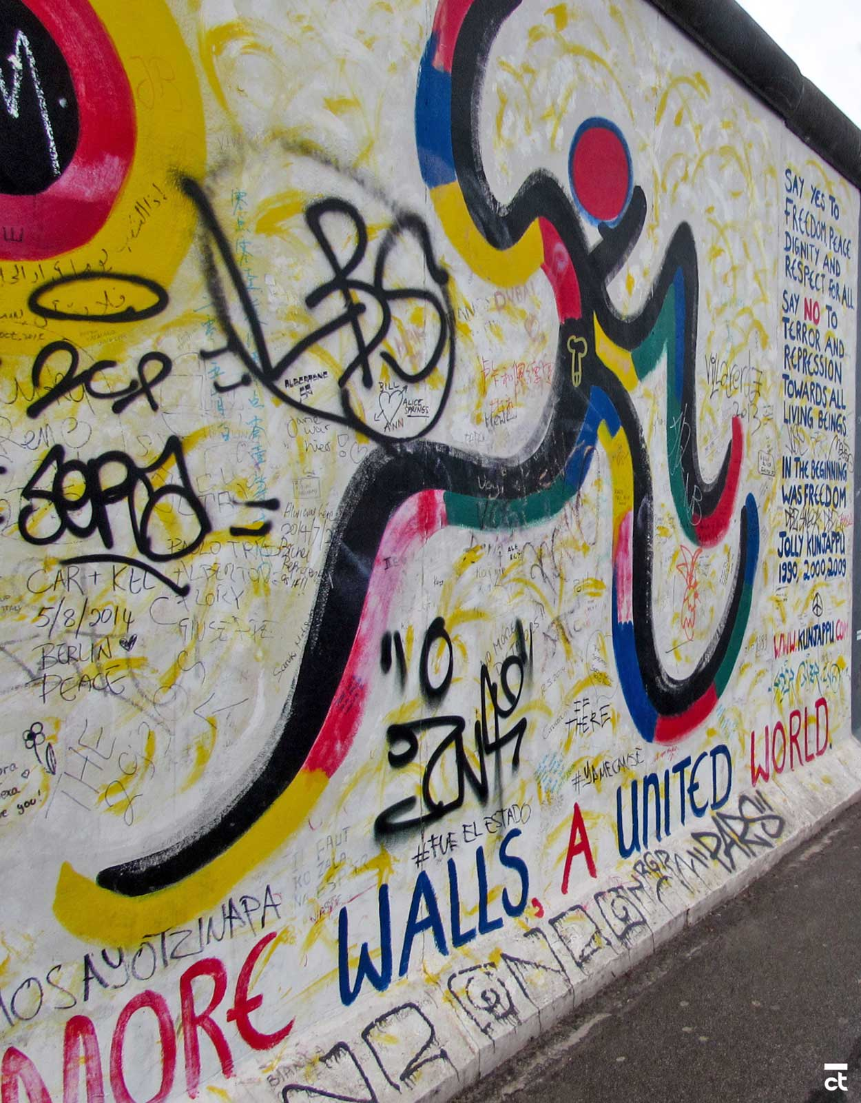 BERLIN WALL - EAST SIDE GALLERY - BERLIN TRAVEL GUIDE: 55 Things to Do in Berlin, Germany