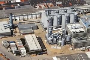 Berlin Neuköln Biomasse-Heizkraftwer