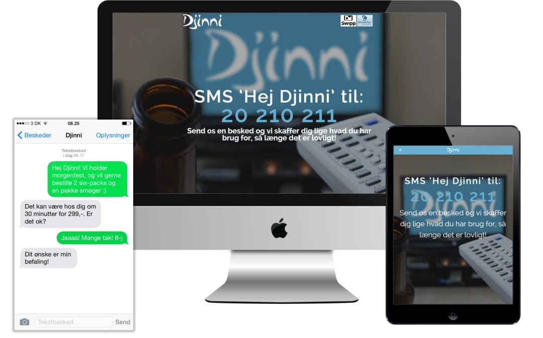 WordPress hjemmeside til Djinni.dk