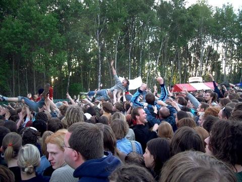 Indierock zwischen ostdeutschen Wäldchen: das Immergut-Festival