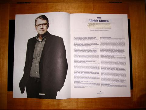 Interview mit Intendant Ulrich Khuon im DT-Magazin