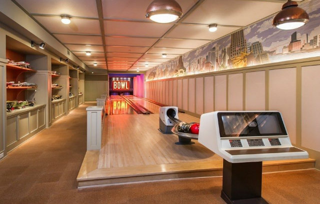 Los Angeles Real Estate Lady Gaga Bowling Alley