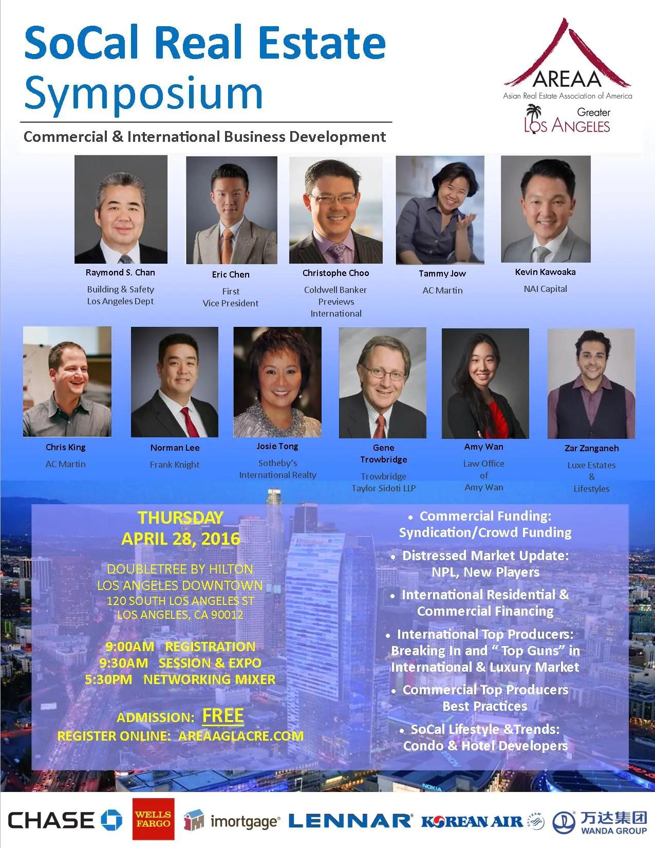 4-28-16 SoCal RE Symposium - SPEAKER flyer