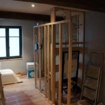 1504 Chênée - Rénovation salle de bains - Chantier 1