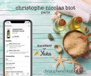 Produits de coiffure sain et naturels Christophe Nicolas Biot