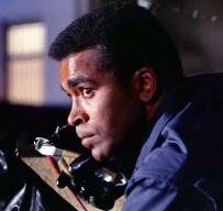 "Barney (Greg Morris) infiltrates the prison in ""Memory"""