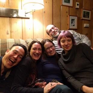 Remy Nakamura, Sandra Wickham, Amy Sundberg, David Levine, and Emily Skaftun