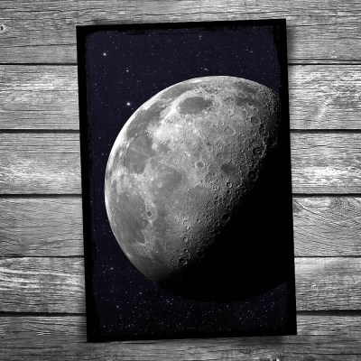 Postcard of the Moon