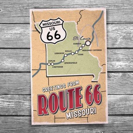 66-134-Route-66-Missouri-Map-Postcard