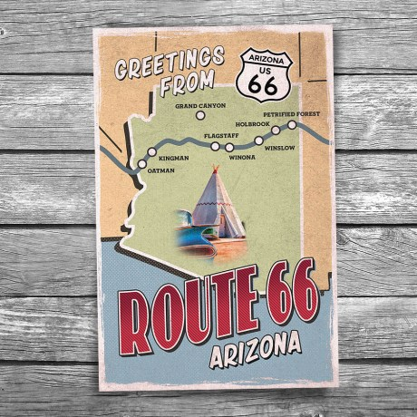 66-139-Route-66-Arizona-Map-Postcard