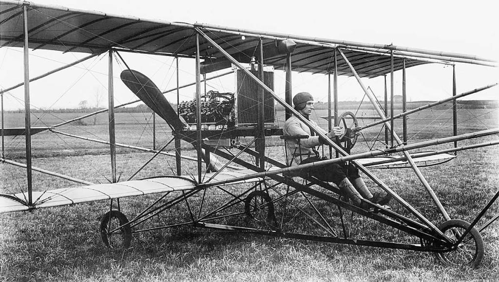 early airplane
