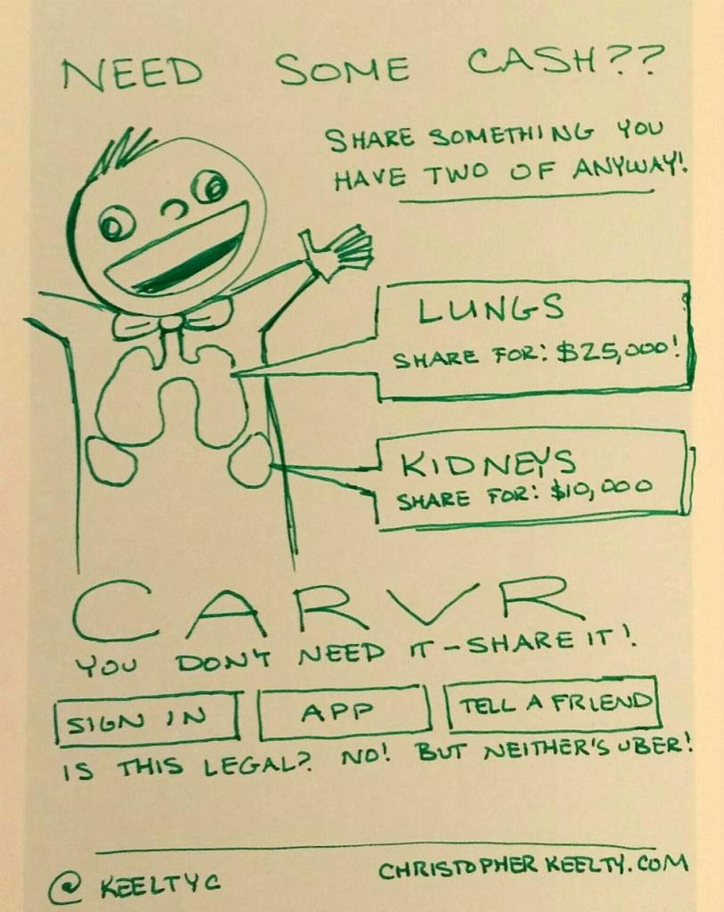 CARVR - Sharing Economy Startup Comic by Christopher Keelty