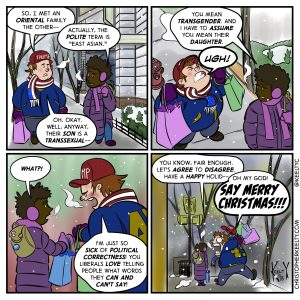 PC Stands for Pretty Considerate - Comic by Christopher Keelty