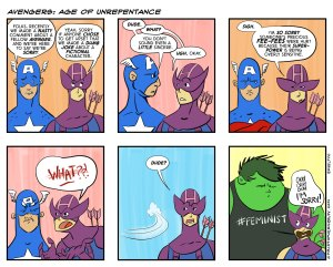 Avengers Age of Unrepentance - Comic by Christopher Keelty