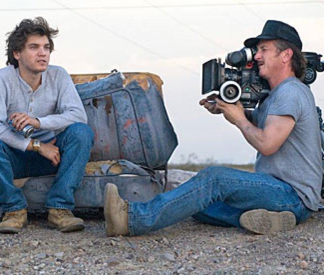 Sean Penn Filming Into The Wild