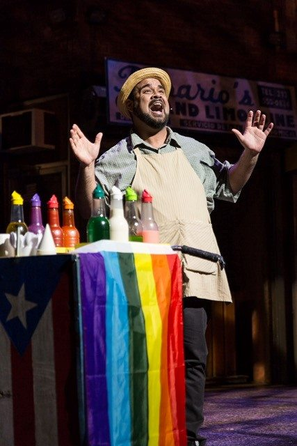Fulton IN THE HEIGHTS Piragua Guy - reprise