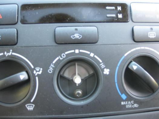 A/C Console Unit