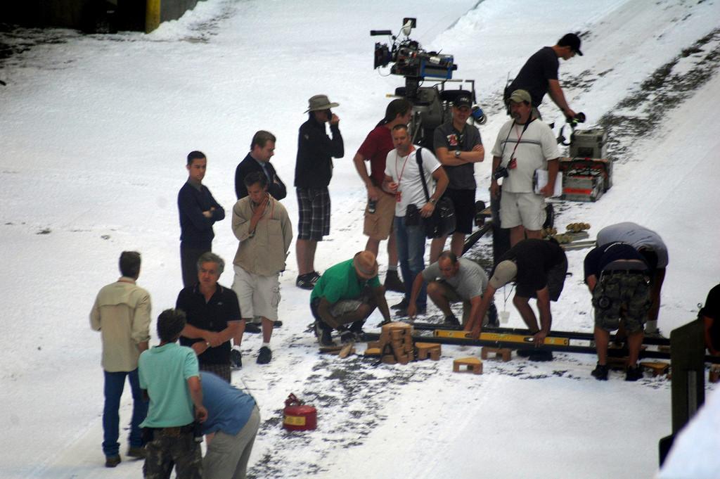 Christopher Nolan et l'équipe technique de The Dark Knight Rises à Pittsburgh