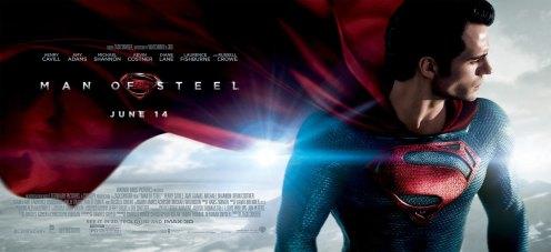 Première bannière de Man of Steel