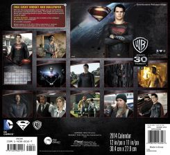 Aperçu du calendrier de 2014 Man of Steel