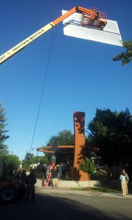 Préparation du tournage d'Interstellar à Okotoks