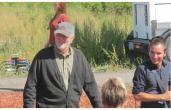 John Lithgow à Okotoks, sur le tournage d'Interstellar