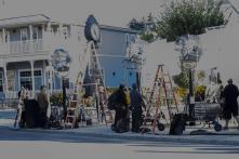 L'équipe de tournage d'Interstellar à Okotoks