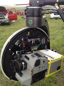 Une caméra IMAX pour le tournage d'Interstellar