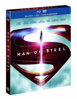 Man of Steel en DVD et Blu-ray