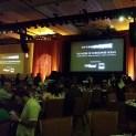 La salle de l'événement avec Christopher Nolan au CinemaCon 2014