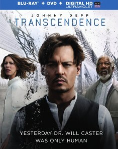 Avant du Blu-ray américain de Transcendance