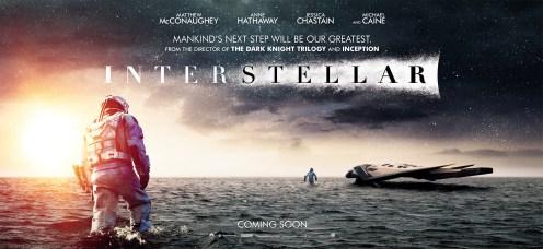 Deuxième bannière d'Interstellar