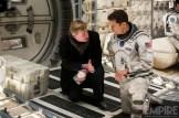 Christopher Nolan et Matthew McConaughey pendant le tournage d'Interstellar
