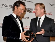 Matthew McConaughey et Christopher Nolan au gala de l'American Cinematheque 2014