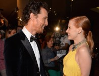 Matthew McConaughey et Jessica Chastain au gala de l'American Cinematheque 2014