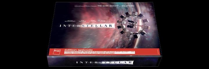 Interstellar : Coffret Collector à la Fnac