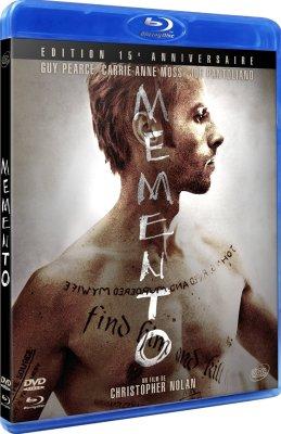 Edition 15ème anniversaire de Memento en blu-ray
