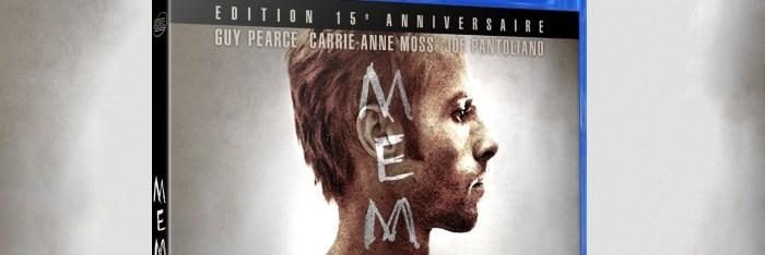 Memento : Le blu-ray en France pour le 15ème anniversaire