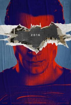 Première affiche teaser de Batman v Superman
