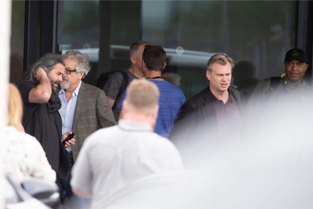 Christopher Nolan et Hoyte van Hoytema arrivent à Tallinn pour le tournage de Tenet