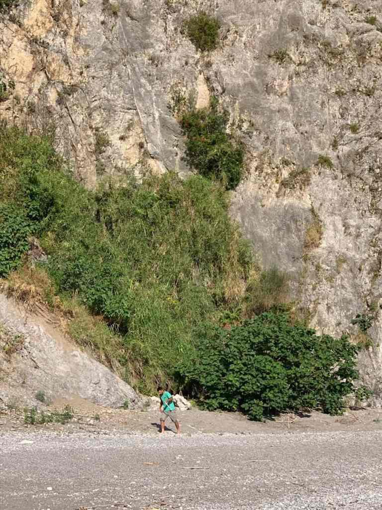 Repérages de la plage du Cheval Mort par Cardine srl pour le tournage de Tenet